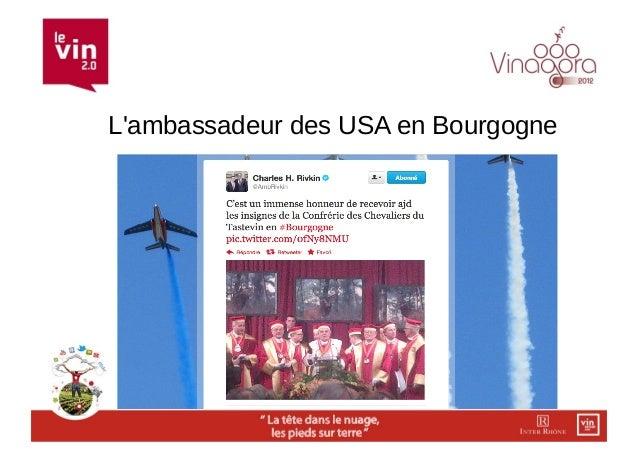 Lambassadeur des USA en Bourgogne