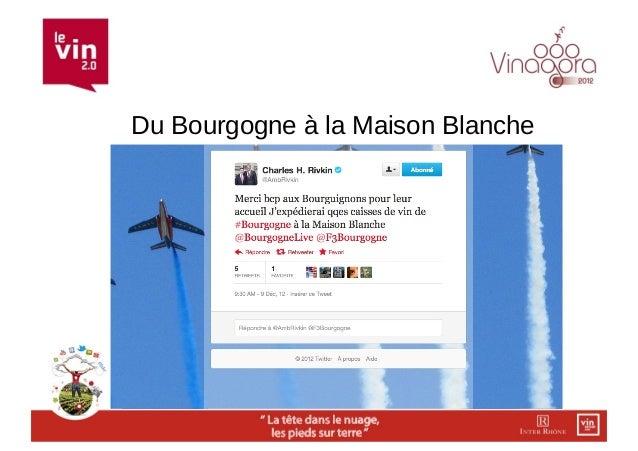 Du Bourgogne à la Maison Blanche