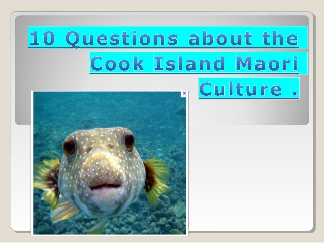 1.What are the namesof the islands in theCook Islands ?