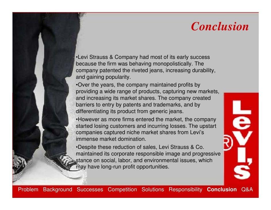 Levis Strauss & Co. an Analysis
