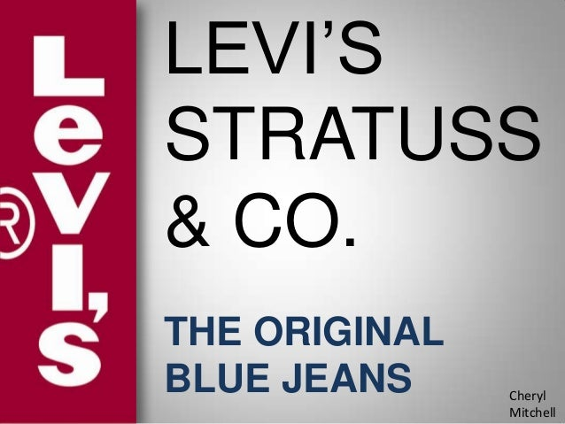 Company overview of levi strauss and co