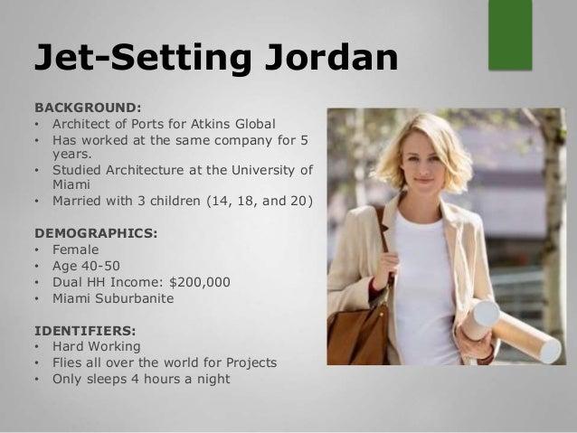 Audience Persona Profile Slide 2