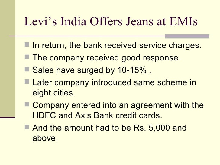 levis case study In a globally extending and growing market many multinational are emerging and giving tough competition to the existing ones like levi strauss the globalised market is highly saturated and divided among a wide range of customers with different needs and wants we have chosen levi strauss for our case due to its widespread penetration of.