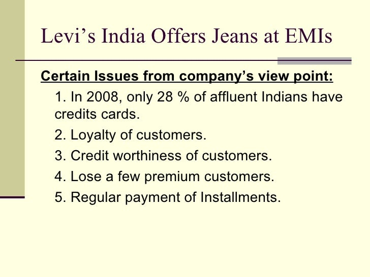 levi strauss case study View essay - case study 1-levi strauss from med 70005 ol 615 at quinnipiac university 2-10 consider what happened in bangladesh to what extent do you think the efforts by levi strauss can resolve.