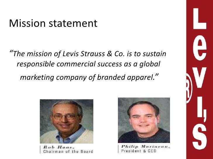 Levi strauss co mission statement