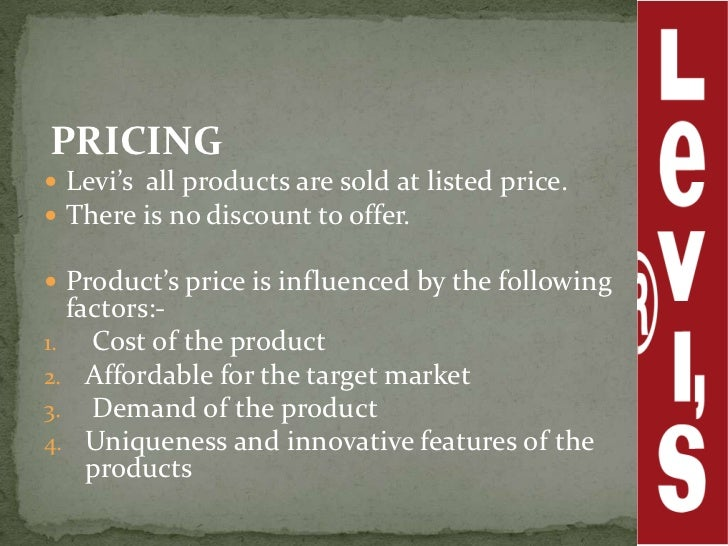 levis distribution channel Marketing channels and wholesaling irwin/mcgraw-hill marketing, 6/emarketing channel of distribution and why intermediaries are needed.