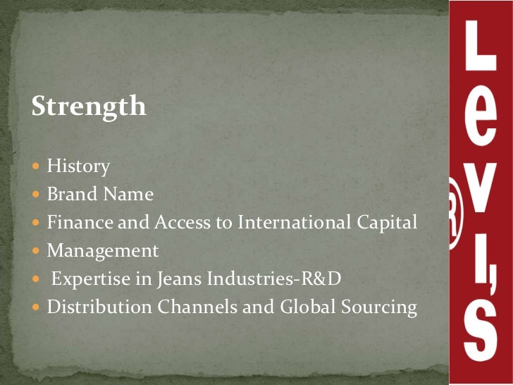 levis distribution channel 1 global marketing channels and physical distribution global marketing chapter 12 global marketing- schrage 12 1 channel objectives • marketing channels exist to.