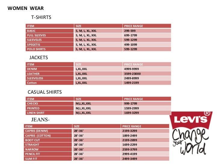 Levis Shirt Size Chart Quality T Shirt Clearance
