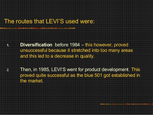 """levi dockers case study By 1995 women's jeans had grown to a $2 billion market of which levi's held first place market research stated that 3/4 of women are not fully satisfied with """"fit"""" of their jeans 5 forces."""