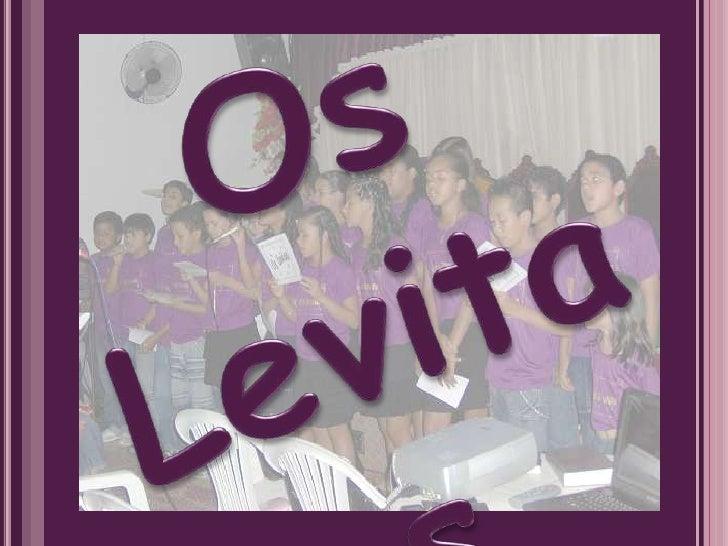 Os  Levitas<br />