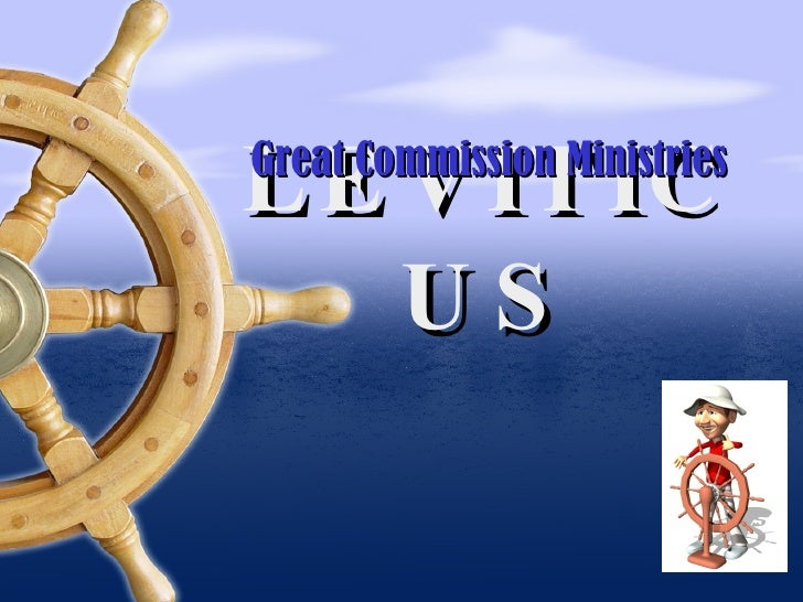 LEVITICUS Great Commission Ministries