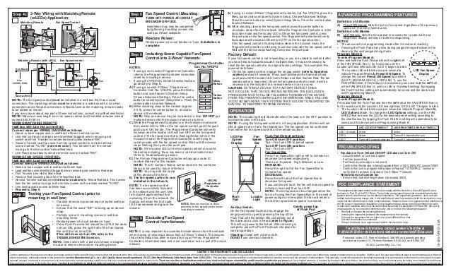 leviton vrf01 1 lz product manual and setup guide rh slideshare net Leviton 4-Way Wiring-Diagram Leviton Decora 3-Way Switch Wiring Diagram