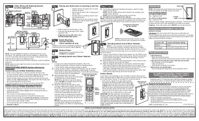 Leviton Vrs15 1 Lz Installation Manual And Setup Guide