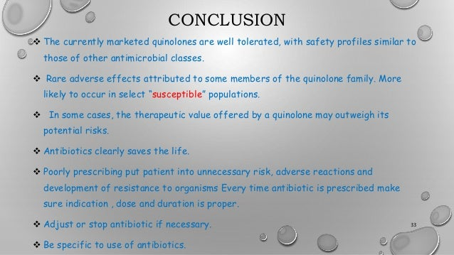 Chloroquine use and fluoroquinolone resistance dissertation