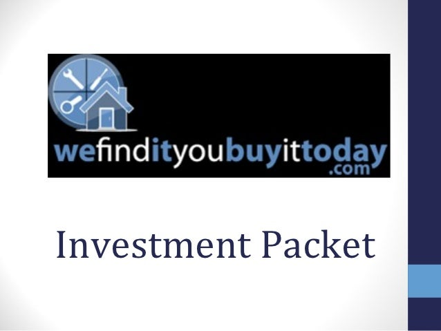 Investment Packet
