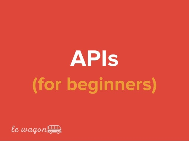 APIs
