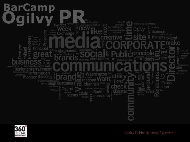 BarCamp<br />Ogilvy PR<br />