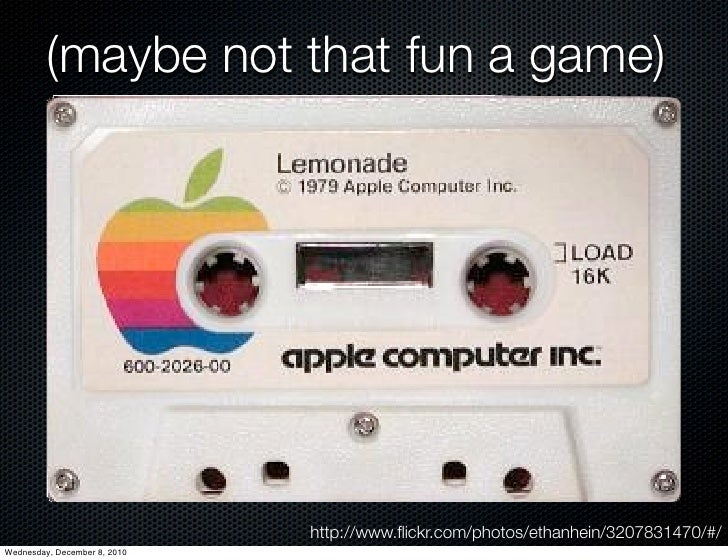 (maybe not that fun a game)                              http://www.flickr.com/photos/ethanhein/3207831470/#/Wednesday, Dec...