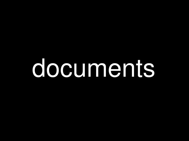 documents<br />