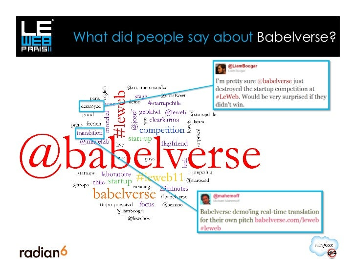 What did people say about Babelverse?