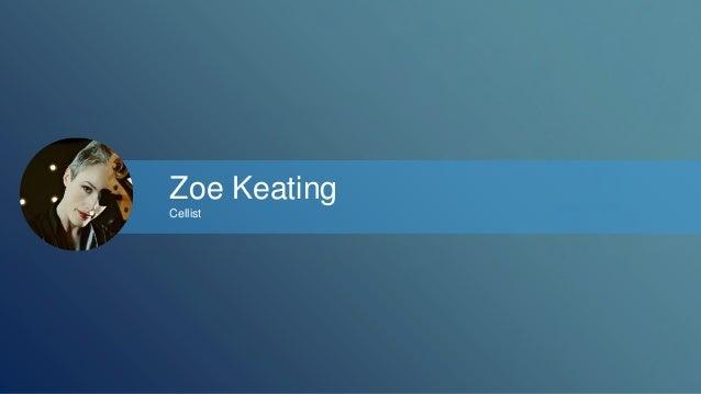 Zoe Keating  Cellist