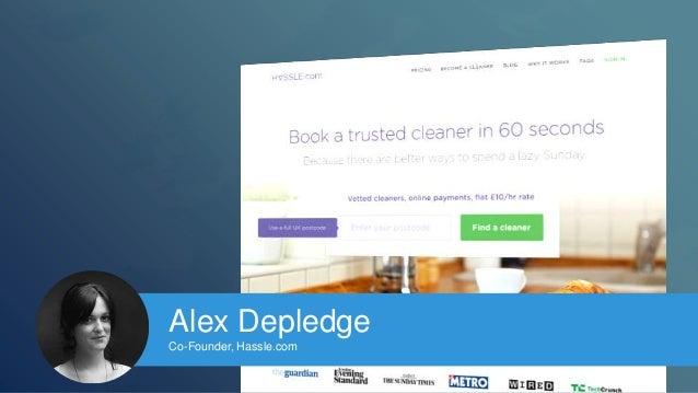 Alex Depledge  Co-Founder, Hassle.com