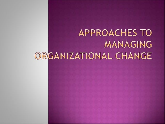 lewins three step change theory And then the second stage of lewin's model is the change itself so whatever that change might be, restructure, outsourcing, joint venture, merger or whatever their organizational change might be, rebranding.