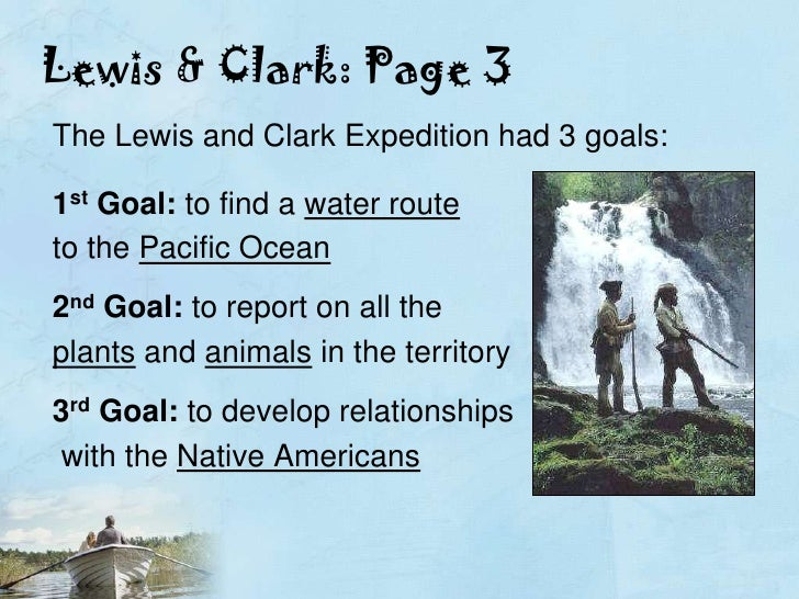 lewis and clark report