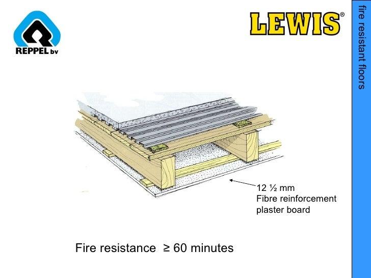 Fire Resistant Reinforcement : Lewis flooring presentation short version