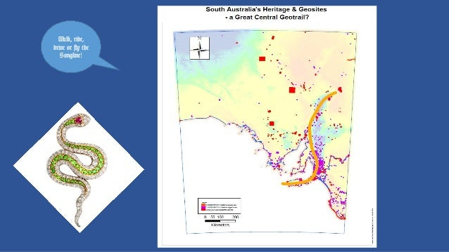 Geoheritage, Geotourism, Geotrails and a South Australian Songline: Ian D Lewis and Angus M Robinson