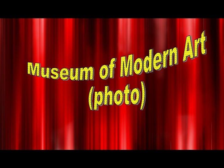 Museum of Modern Art  (photo)