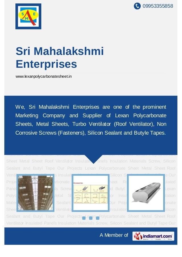 09953355858A Member ofSri MahalakshmiEnterpriseswww.lexanpolycarbonatesheet.inLexan Polycarbonate Sheet Metal Sheet Roof V...