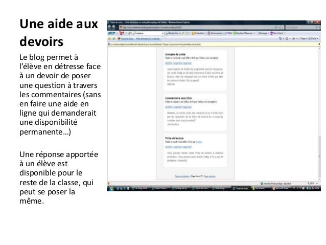 l u2019exemple de quelques blogs au lyc u00e9e en classe