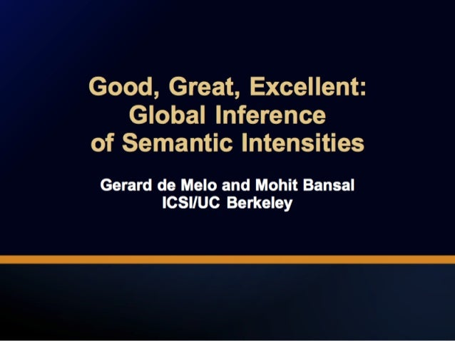 Good, Great, Excellent: Global Inference of Semantic Intensities