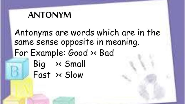 Lexical or word meaning klmpok 2