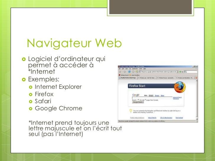 Lexique d'informatique Slide 3