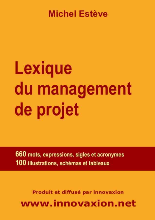 Lexique du Management de projet