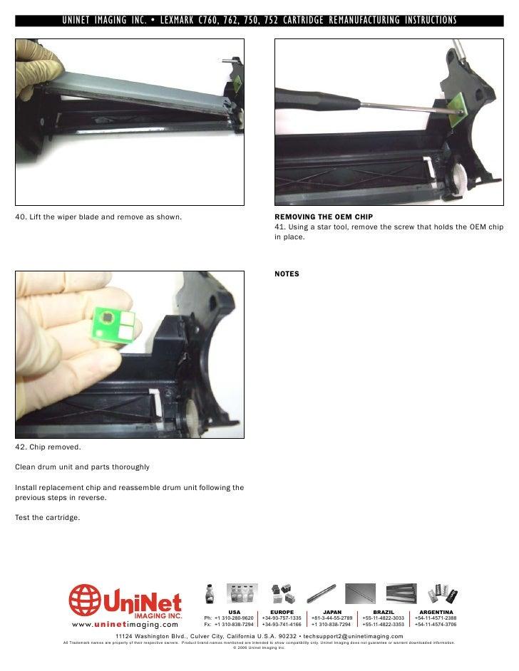 Lexmark c 76x (5060-4xx) printer parts exchange printer parts.