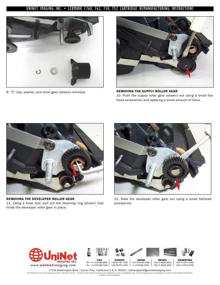 Lexmark c752 service manual download.
