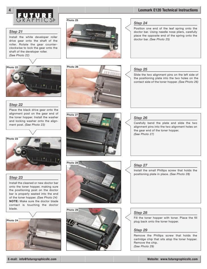 manual de recarga lexmark e120 rh slideshare net lexmark e120 user manual lexmark e120 user manual