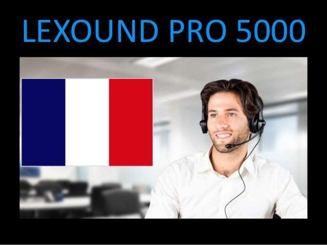 LEXOUND PRO 5000