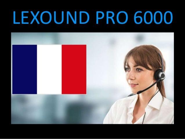 LEXOUND PRO 6000