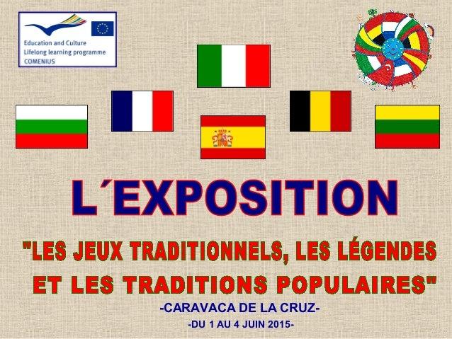 -CARAVACA DE LA CRUZ- -DU 1 AU 4 JUIN 2015-