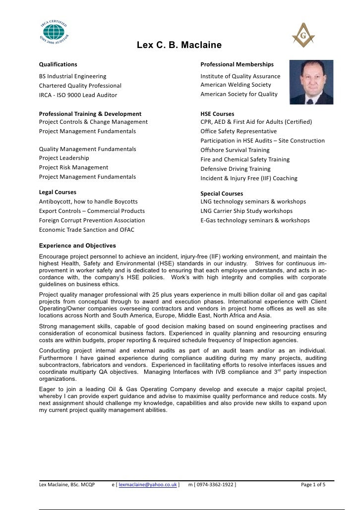 lex resume 2011 latest version