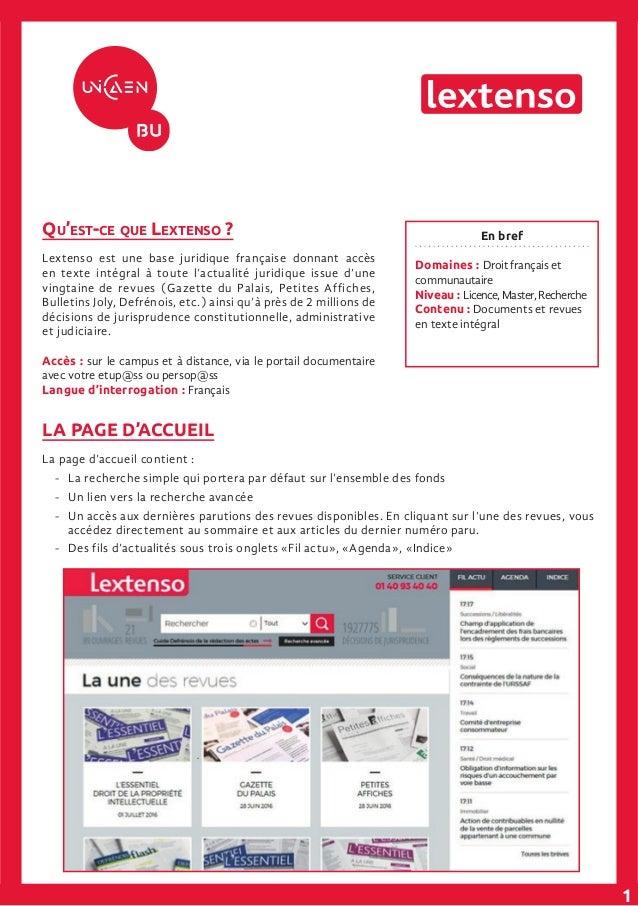 En bref Domaines : Droit français et communautaire Niveau : Licence,Master,Recherche Contenu : Documents et revues en text...