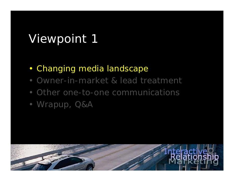 Lexus Digital Marketing Strategy Slide 3