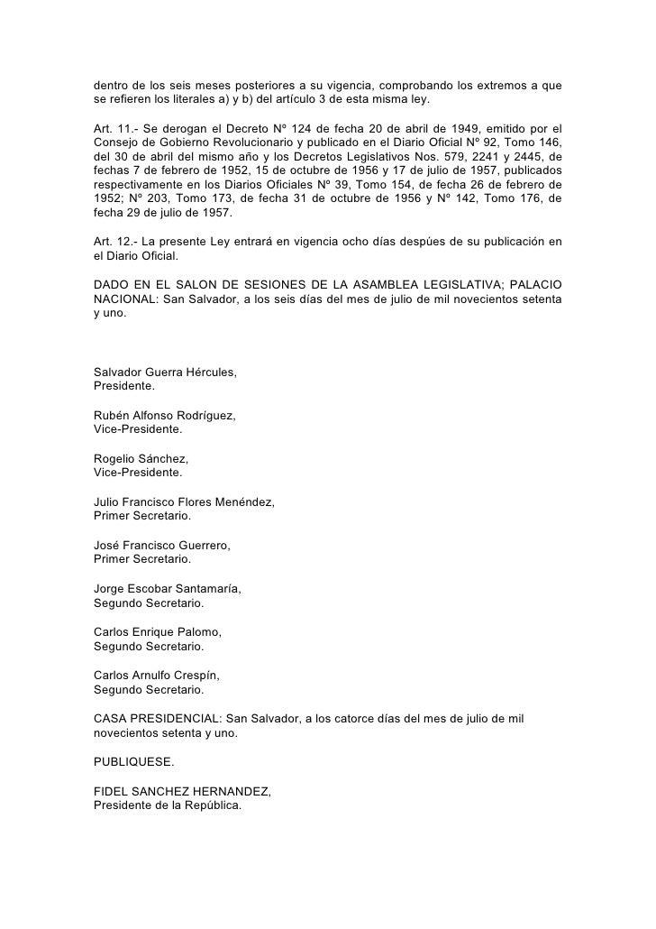 Ley Asistencia Magisterio Nacional Slide 3