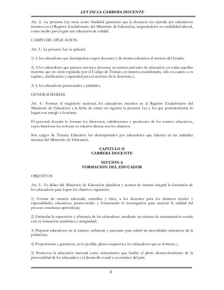 Ley de-la-carrera-docente-reforma-2006 0- Slide 2