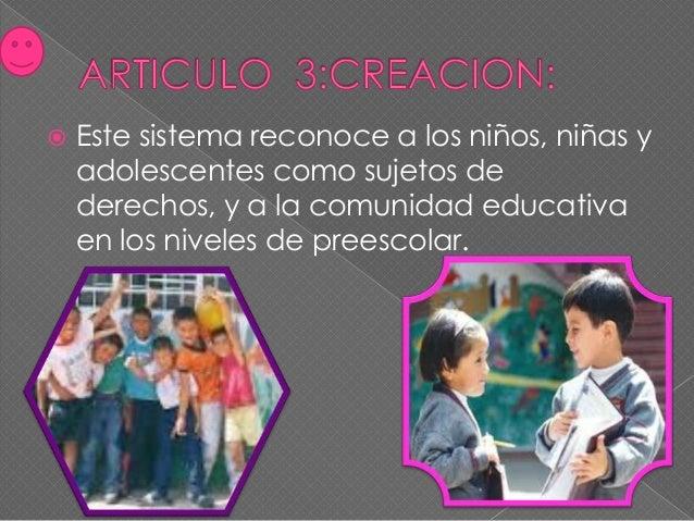  Garantizar la protección  de los  niños,niñas,adolescentes  en los espacios educativos. Promover el desarrollo de  estr...