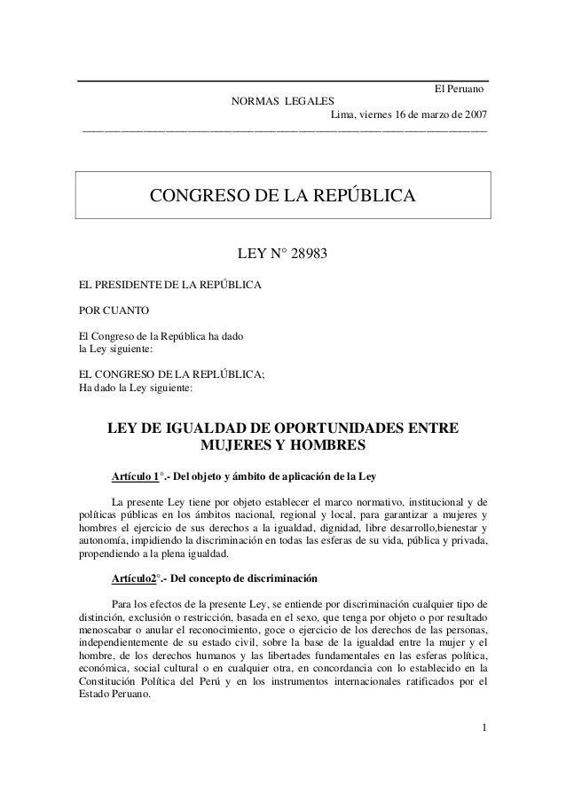 El Peruano                           NORMAS LEGALES                                             Lima, viernes 16 de marzo ...